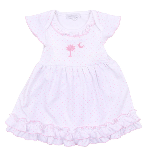 Palmetto Baby Embroidered Dress Set