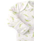 Green Peas Print Sleep Sack and Hat