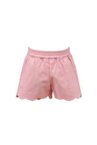 Susie Scallop Shorts Pink