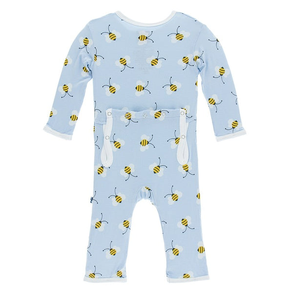 Pond Bees Coverall (Zipper)