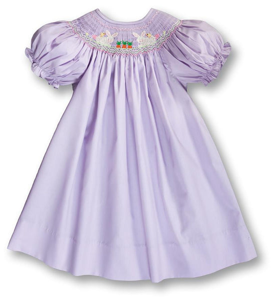 Bunnies and Friends Smocked Bishop