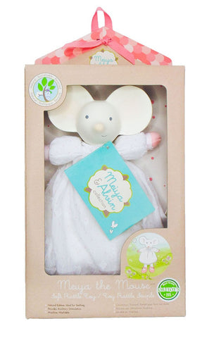 Meiya the Mouse Soft Rattle Toy