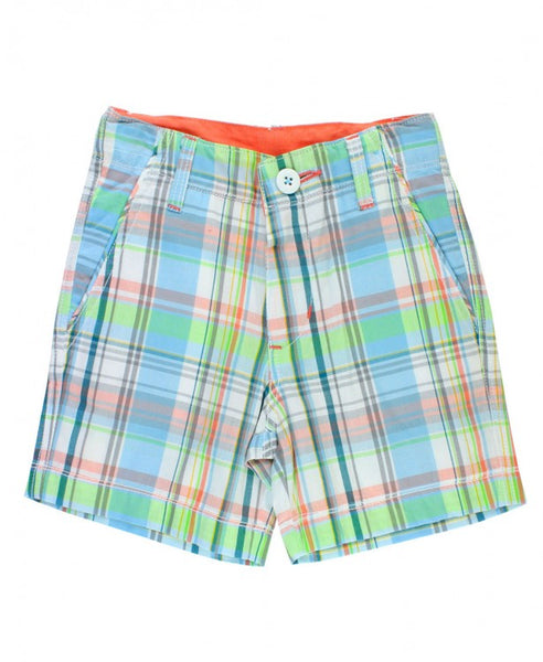 Samuel Plaid Shorts