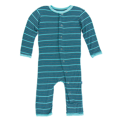 Shining Sea Stripe Coverall