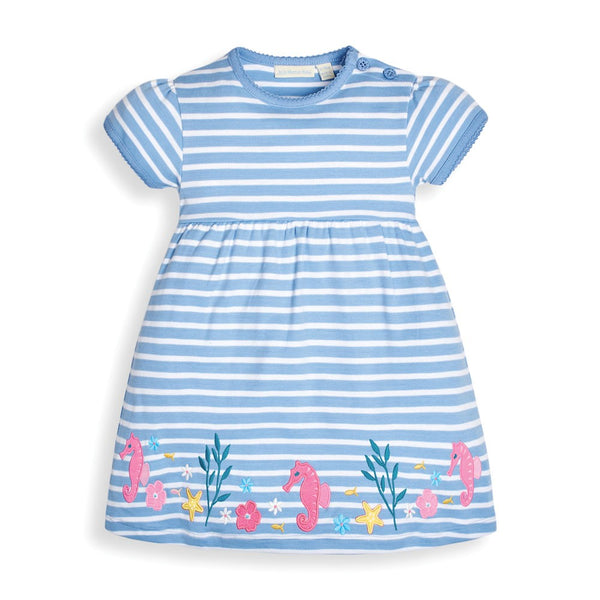 Seahorse Applique Dress