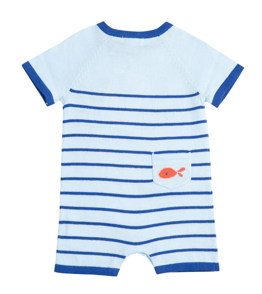 Nautical Whale Knit Shortie