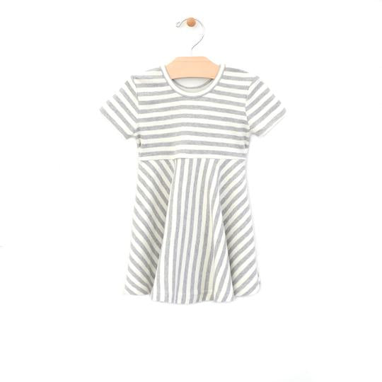 Stripe Twirl Dress