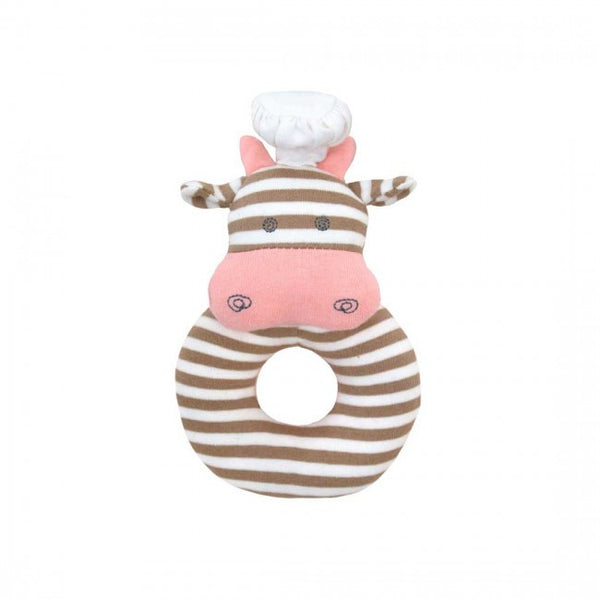 Chef Cow Teething Rattle
