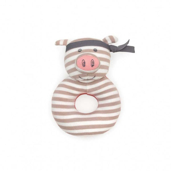 Pork Chop Teething Rattle