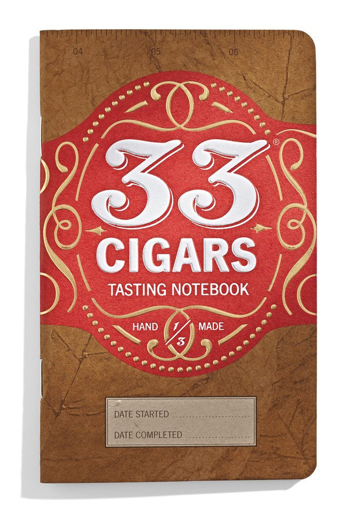 33 Cigars - Cigar Tasting Notebook