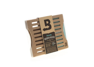 BOVEDA Wooden 2-device holder (side by side)