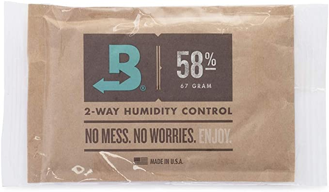 BOVEDA 58% Large (67 gram) 2-Way Humidity Control Pack (5-pack)