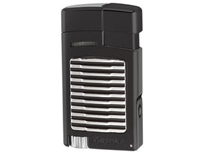 Xikar - Forte Black Single Jet Flame cigar lighter
