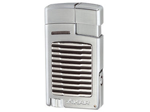 Xikar - Forte Silver Single Jet Flame cigar lighter