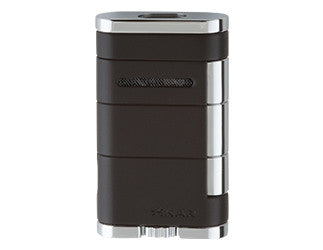 Xikar - Allume Black Double Jet Flame cigar lighter