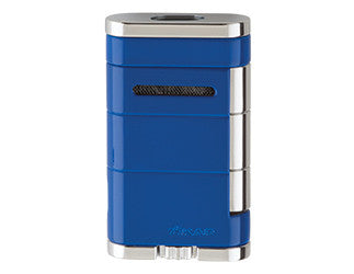 XIKAR - Allume Double Jet Flame cigar lighter (blue)