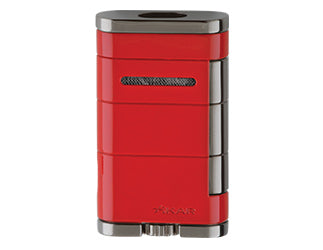 Xikar - Allume Riot Red Double Jet Flame cigar lighter