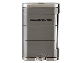 Xikar - Allume G2 (gunmetal) Tabletop Jet Flame cigar lighter