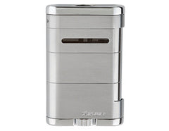 XIKAR - Allume Tabletop Jet Flame cigar lighter (silver)