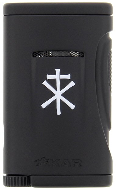 Xikar - RoMa Craft Tobac Xidris Black Single Jet Flame cigar lighter