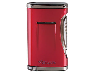 XIKAR - Xidris Single Jet Flame cigar lighter (Daytona Red)