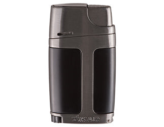 Xikar - ELX G2-Black (gunmetal-black) Jet Flame cigar lighter