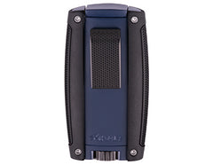 Xikar Turismo Double Jet-flame cigar lighter (Matte Blue)