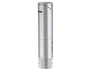 Xikar - Turrim Silver Double Jet Flame cigar lighter