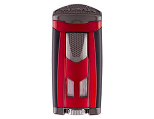Xikar - HP3 Daytona Red Triple-flame cigar lighter