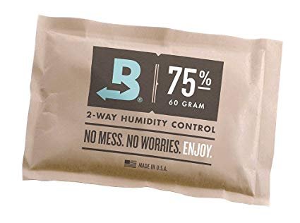 BOVEDA 75% Large (60 gram) 2-Way Humidity Control Pack (5-pack)