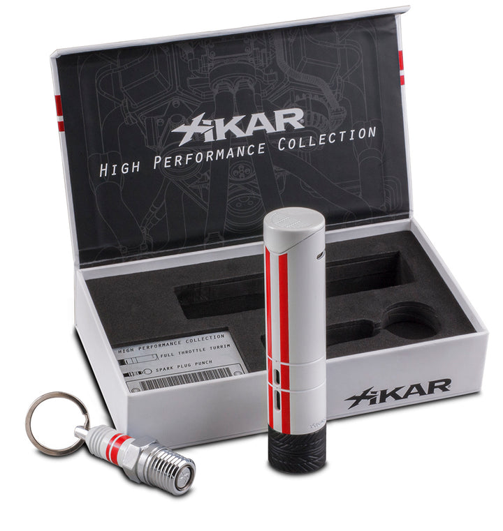Xikar Red & White High Performance Limited Edition Gift-set