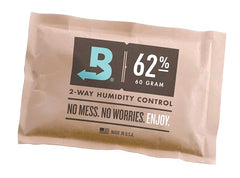 BOVEDA 62% Large (67 gram) 2-Way Humidity Control Pack (5-pack)
