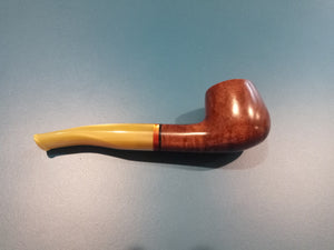 BASKET PIPE - Medium Bent (Smooth)