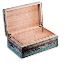Craftsman Bench - Key West 90-count desktop humidor