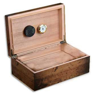 Craftsman Bench - Rustic 90-count desktop humidor