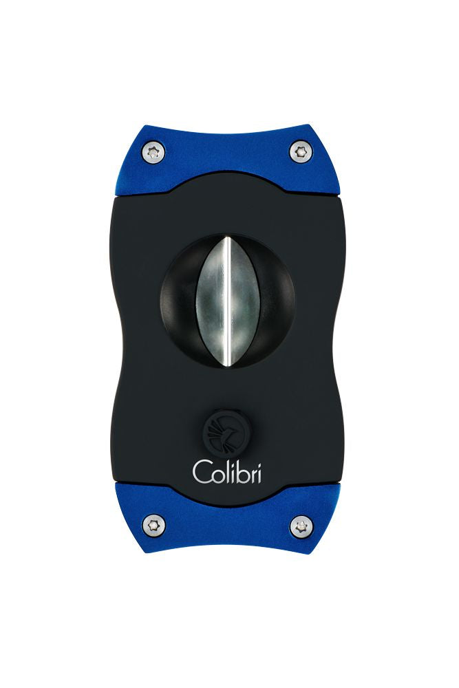 Colibri - V-Cut Cigar Cutter (Black-Blue)