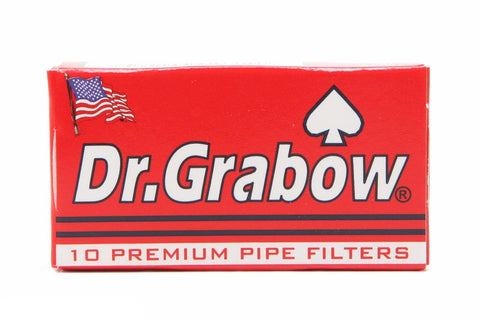 Dr. Grabow 6mm Carbon-activated pipe filters (pack of 10)