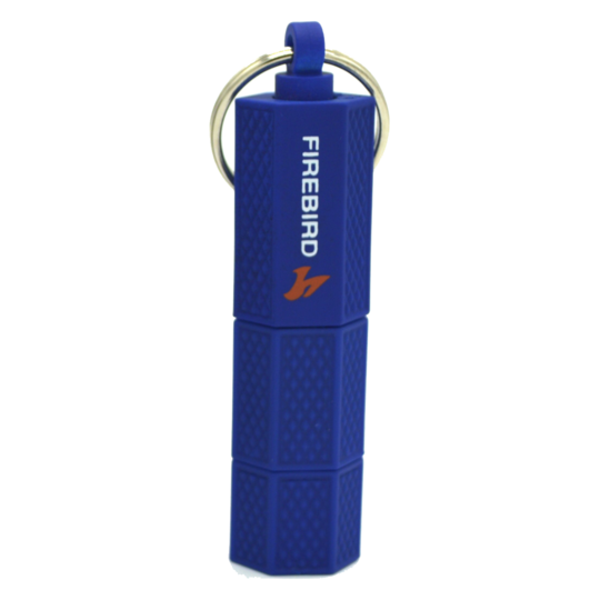 Firebird - Punch Keychain Cigar Cutter (Blue)
