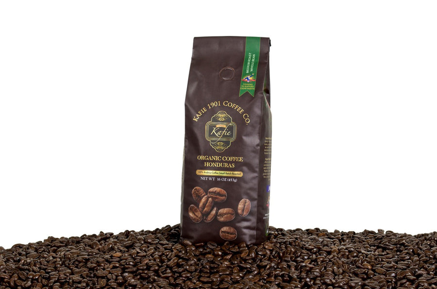 KAFIE 1901 - KAFIE 1901 Coffee | 100% Organic Honduran Coffee (whole bean) | 453 grams