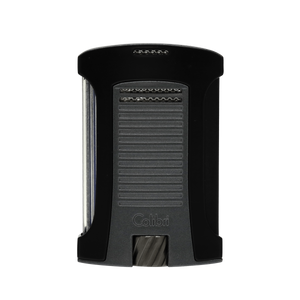 Colibri - Daytona Single Jet Flame Cigar Lighter (Matte Black-Charcoal)