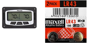 XIKAR - *old style* 833XI replacement LR43 battery Twin-pack