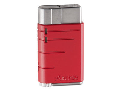 XIKAR - Linea Riot Red Single Jet Flame Cigar lighter