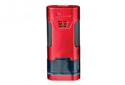 JetLine - Mongoose Triple-flame cigar lighter (Red)