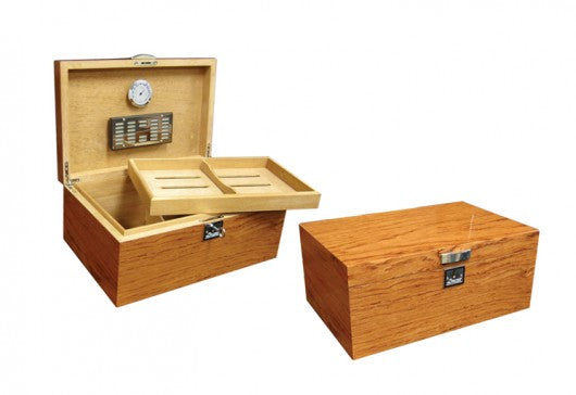 The Princeton Bubinga Desktop Humidor (~130 count)