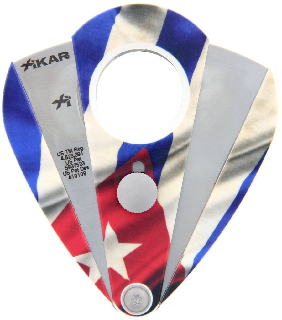 XIKAR - Xi2 Limited Edition Cigar Cutter (Cuban flag)