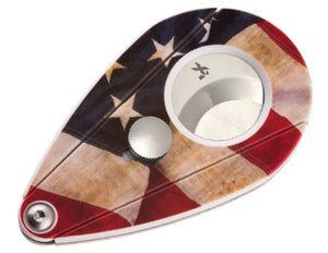 XIKAR - Xi2 Limited Edition Cigar Cutter (USA flag)