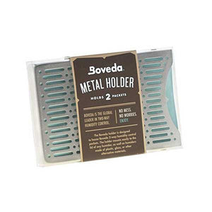Boveda Metal 2-pack holder for SIZE 60/67 Humidification Control Packs