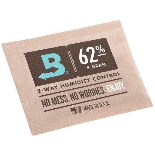 BOVEDA 62% Travel (8 gram) 2-Way Humidity Control Pack (5-pack)