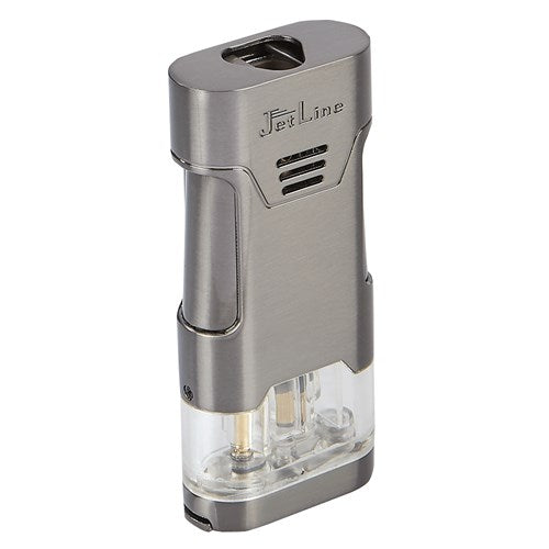 JetLine - Mongoose Triple-flame cigar lighter (Gun Metal)