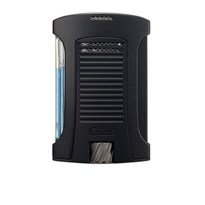 Colibri - Daytona Single Jet Flame Cigar Lighter (Matte Black-Black)